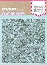 Studio Light Clear Stamp Hintergrundstempel Floral
