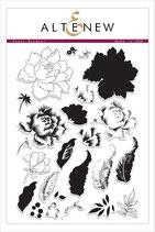 Altenew Stamp Peony Bouquet - Stempel Pfingstrose