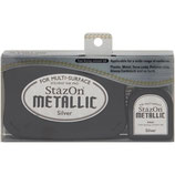 StazOn Metallic Solvent Ink Kit Silver