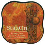 StazOn Midi Ink Pad Orange Zest