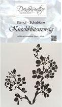 DKW Stencil Kirschblütenzweig