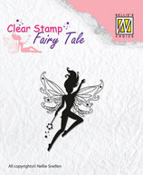 Nellie Snellen clear stamp Fairy Tale