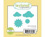 Taylored Expressions Little Bits Sun & Clouds Die