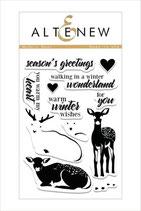 Altenew Stamp Modern Deer - Stempel Hirsch und Reh