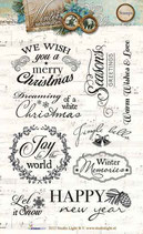 Studio Light Clear Stamps Winter Memories