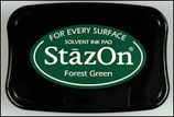 StazOn Solvent Ink Pad Forest Green