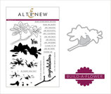 Altenew Stamp and Die Bundle -Build a flower - Magnolia