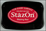StazOn Solvent Ink Pad Blazing Red