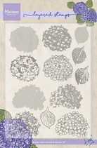 Layered Stamp Hortensie Marianne Design