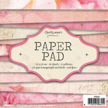 Quality Papers Paper Pad Rosa