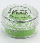 Flocking Powder Sparkeling Light Green
