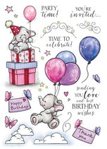 Wild Rose Studio A5 Stampset Bella's Party 2