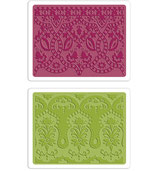 Sizzix Textured Impressions Embossing Folders Moroccan Daydream