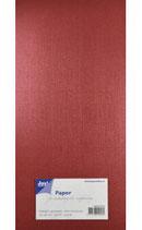 Metallic Cardstock Leinen Papier Rot