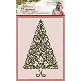 Traditional Christmas Folder Festive tree - Embossingfolder Tannenbaum
