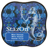 StazOn Midi Ink Pad Blue Hawai