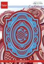 Creatables stencil Anja's oval