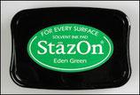 StazOn Solvent Ink Pad Eden Green
