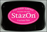 StazOn Solvent Ink Pad Fuchsia Pink