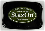 StazOn Solvent Ink Pad Olive Green