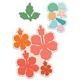 Tropical Hibiscus Die - Stanzschablone