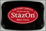 StazOn Solvent Ink Pad Black Cherry