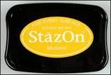 StazOn Solvent Ink Pad Mustard
