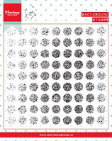 Clear Stamp Tiny's background distressed dots