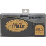 StazOn Metallic Solvent Ink Kit Gold