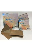 Kraftpapier Braun mit Umschlägen