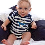 EVZ Baby Streifen Body kurz