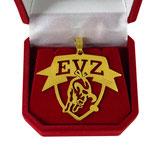 EVZ Schmuck - Anhänger hartvergoldet