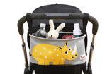 3sprouts Kinderwagentasche Nashorn