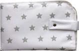 3in1 Wickeltasche silver stars