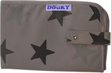 3in1 Wickeltasche grey stars