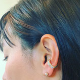new!! Opal earcuff NEW!!