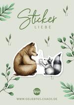 Sticker – Bären