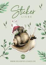 Sticker – Schnecke