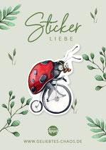Sticker – Marienkäfer
