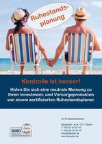"""Plakat """"Kontrolle ist besser"""""""