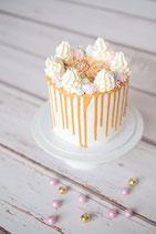 Christmas Drip Cake Rosa/Gold