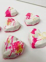 Schokoladen Herzen Set 6 Stücke