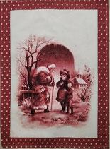 Asciugapiatti Quando incontri Babbo Natale Vintage