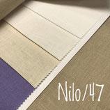 cm.50 di Puro lino, 12 fili e 12 battute per cm., altezza cm. 180.