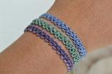 """Armband """"Elisabeth"""" mit 2 mm Perlen - Wunschfarbe"""