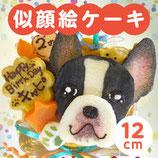 商品名似顔絵ケーキ♪12cm 顔1個