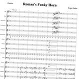 Roman's Funky Horn (Blasorchester)