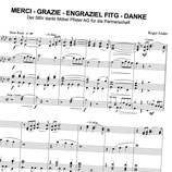 Merci - Grazie - Engraziel Fitg - Danke (Brassband)