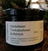 Heidelbeeraufstrich mit Tonka Bohne, 200g