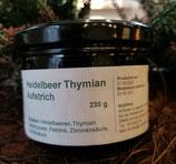 Heidelbeeraufstrich mit Thymian , 200g
